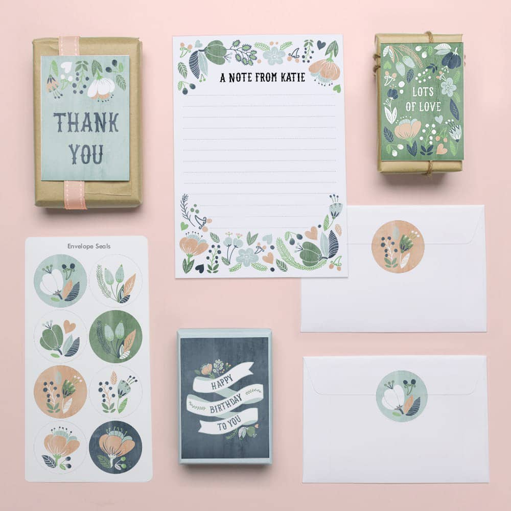 Garden Party Stationery & Gift Sets - Tinyme
