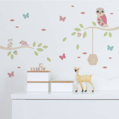 Mini & Scatter Wall Stickers