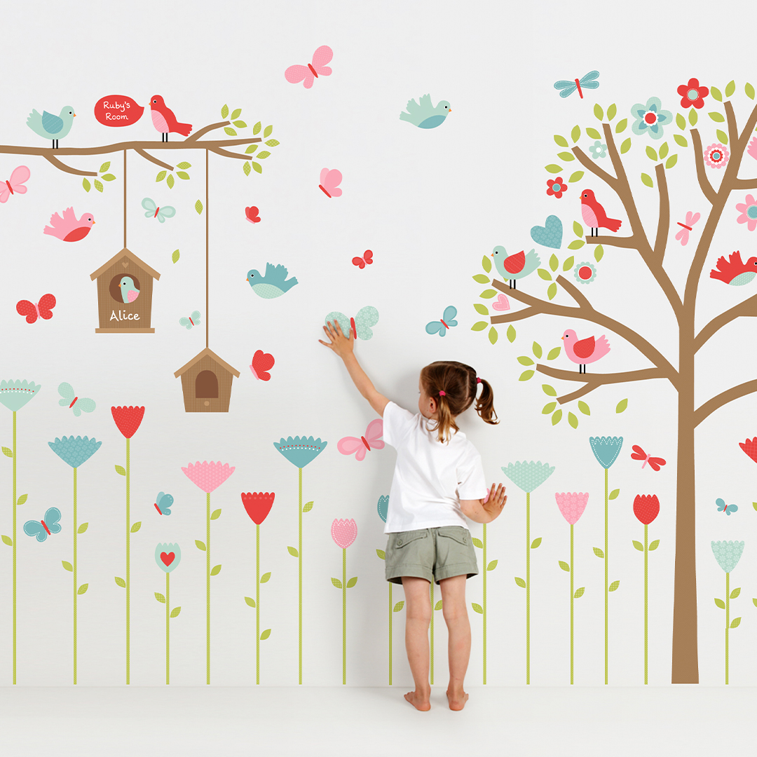 Springville Wall Stickers
