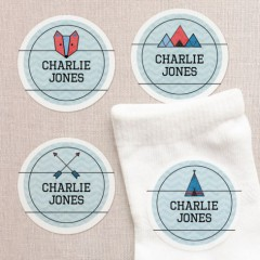 Round Clothing Labels