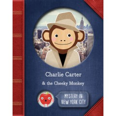 Mystery In New York City Personalised Story Book Cover