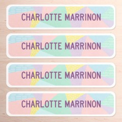 Large Name Labels