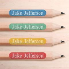 Mini Pencil Name Labels