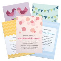 Personalised Birth Announcements
