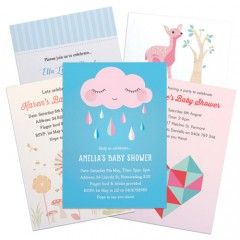 Baby Shower Invitations & Magnets