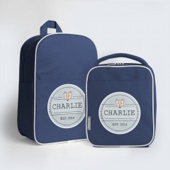 Junior Personalised Backpack Combo