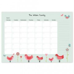 Monthly Personalised Paper Planner