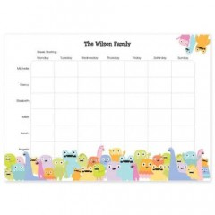 Weekly Personalised Planner (multi column)