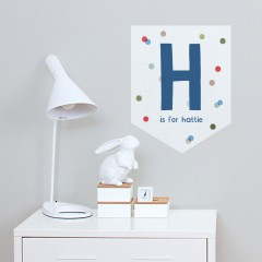 Fun Letter Banner Decal