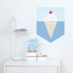 Ice Cream Banner Decal