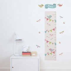 Woodland Bunting Height Chart