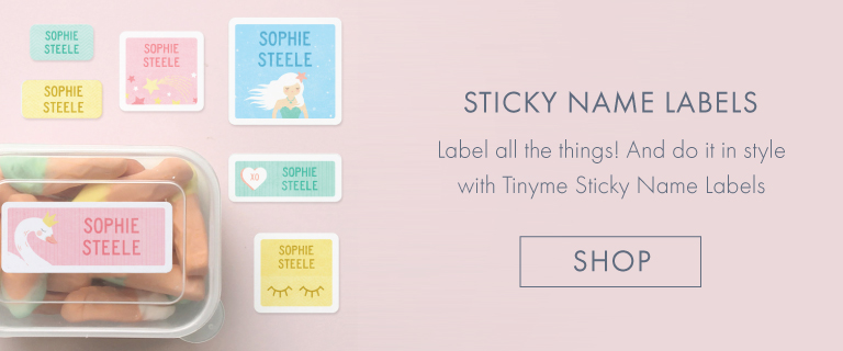 Personalised Sticky Lables