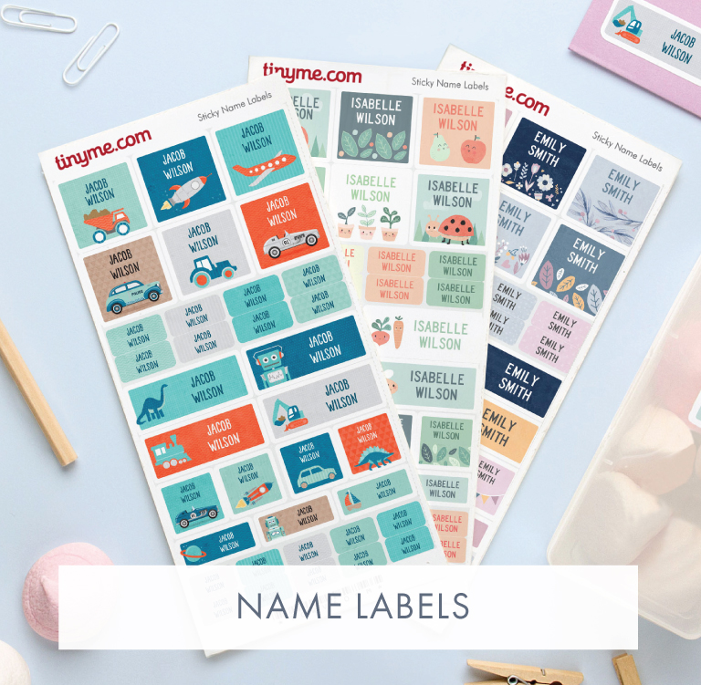 Personalised Name Labels
