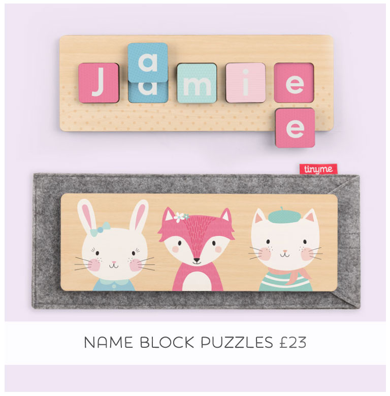 Personalised Name Block Puzzle