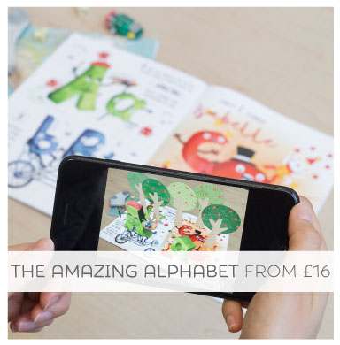 Bring the story to life with the Amazing Alphabet