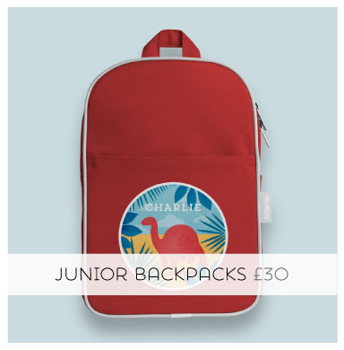 Personalised Junior Backpack