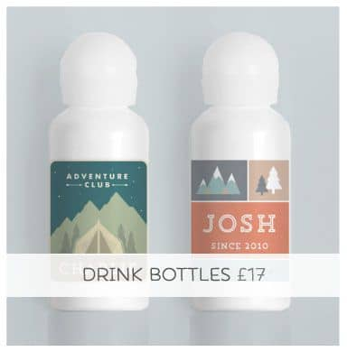 Personalised Drink Bottle... A bag's best friend!