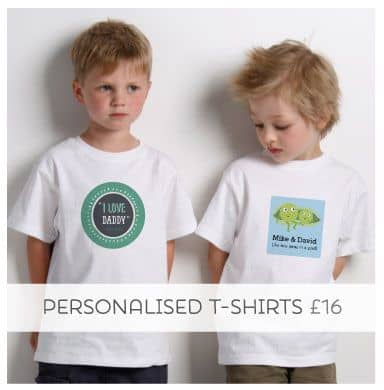 Don't just say it, wear it with our Personalised Tees!