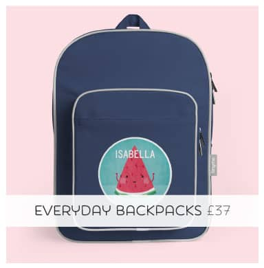 The Ultimate Back to School Personalised Bag